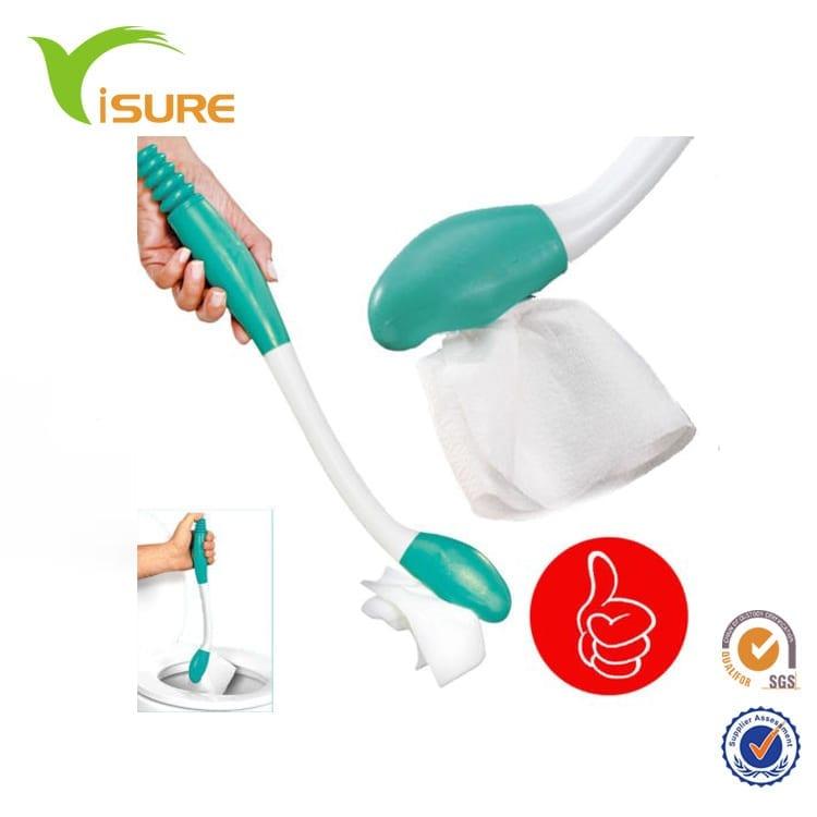 Toilet Paper Holder Extension Long Reach Wipe Comfort Handle Hygiene Sanitry Aid Toilet Wiper Self Wipe Toilet Aid