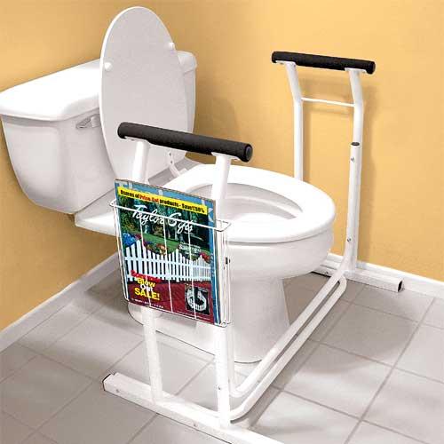 TOILET SAFETY RAIL 6037 toilet grab rail