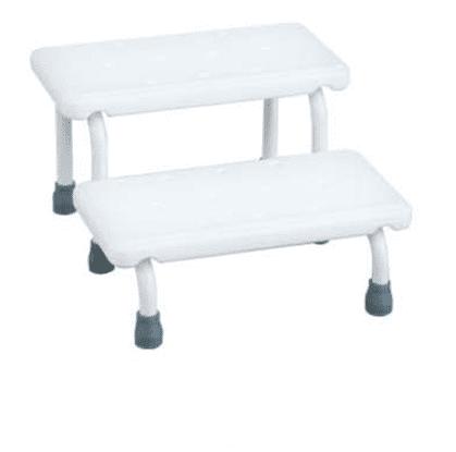 Aluminum White Bathroom Bath Bench Stool For Elders