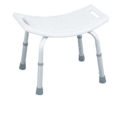 Aluminum White Bathroom Shower Chair For Elders