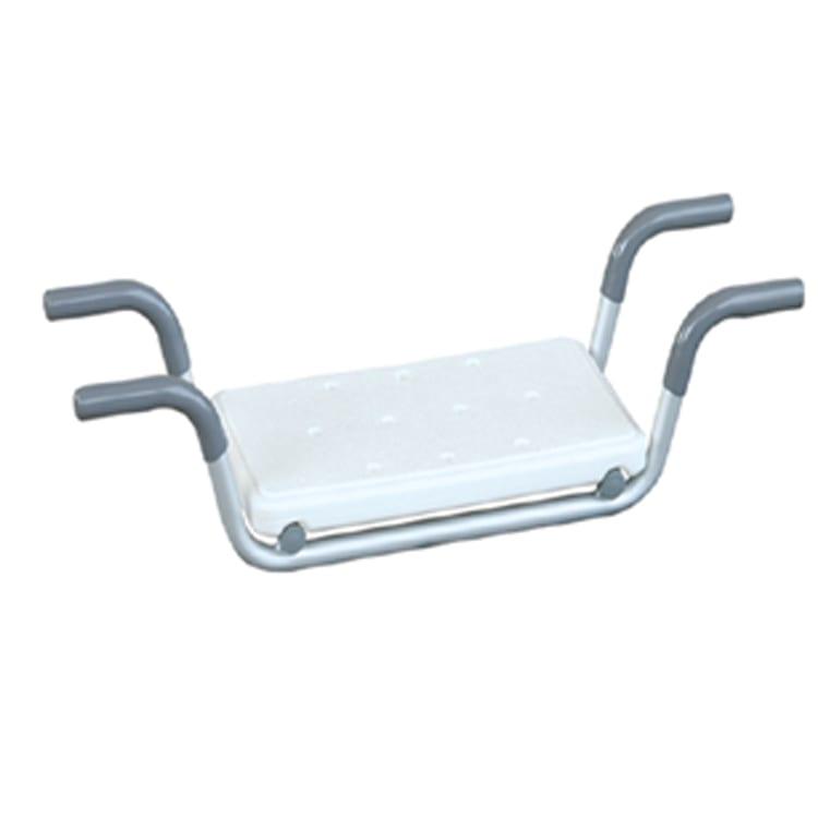 Aluminum White Bathroom Bath Bench For Elders