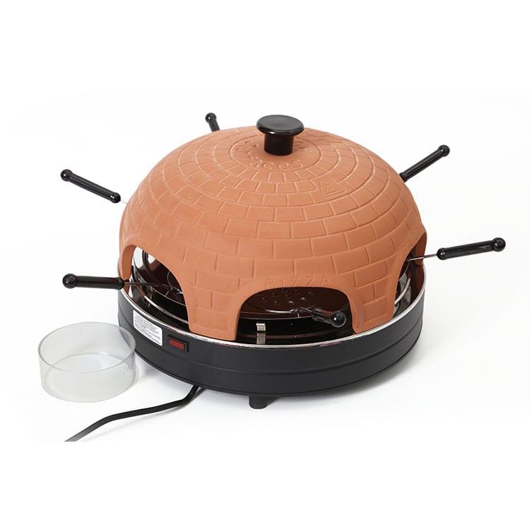 6 Persons Terracotta Mini Pizza Dome for sale