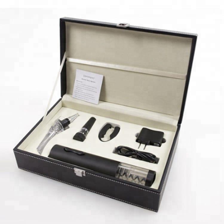 Premium Quality Luxury Rechargeable Corkscrew Electric Wine Opener Set